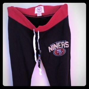 Women's 49ers pajama pants